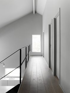 Private Home is a minimalist interior design located in Stockholm, Sweden, designed by Anna Leena Karlsson Arch Interior, Interior Architecture, Interior Design, Minimalist Architecture, Minimalist Interior, New Home Designs, Next At Home, Grey Walls, Inspired Homes