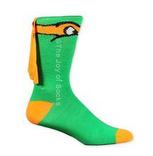 Teenage Mutant Ninja Turtles Michelangelo Masked Socks (Unisex)