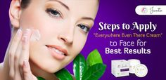 Effective Way to Apply Natural Body Care Cream