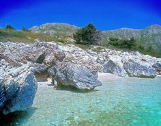 Mrkan Island, Little Island near Dubrovnik, Croatia