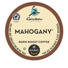 CARIBOU COFFEE MAHOGANY BLEND 72 K CUPS ** Click image to review more details.-It is an affiliate link to Amazon. #CoffeeBeans