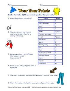3 FREE  Math Enrichment Worksheets!