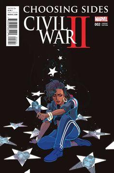 Civil War II Choosing Sides #2 (of 6) Ward Variant
