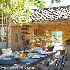 Create a picture result for a Mediterranean terrace - Apartment Decorating Country Decor, Country Style, Outdoor Living, Outdoor Decor, Interior Architecture, Terrace, Beautiful Homes, Sweet Home, Home And Garden