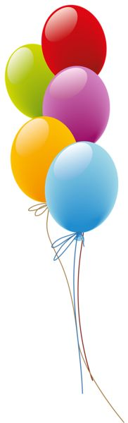 Balões PNG Imagem
