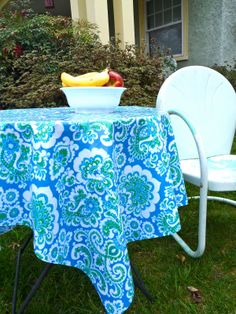 Oilcloth Addict - Feeding your Oilcloth Addiction with tips and tutorials with Modern June: Q & A: Laminated Cotton as table cloth
