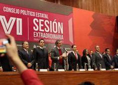 Confirman coalición PRI-PVEM-Panal-PES en el Estado de México