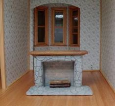 Dollhouse Fireplace tutorial