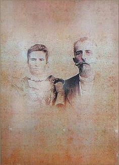 Cata Alta. Barões de; Antonio José Gomes Bastos e  Clara Rosalina Gomes Baião.
