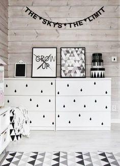 17 Awesome Ikea Malm Hacks that will Make your Day - james and catrin Ikea Dresser Hack, Boho Deco, Deco Design, Design Design, Interior Design, Ikea Furniture, Furniture Stores, Furniture Makeover, Home And Deco
