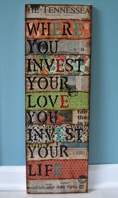 DIY decoration idea Kid Icarus makes the most creative handmade stationery in Toronto. Collages, Collage Artwork, My New Room, Fun Projects, Photo Projects, Cool Words, Diy Gifts, Arts And Crafts, Crafty