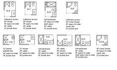 tiny bathroom layouts