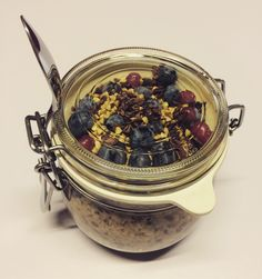 Overnight Oats im Glas