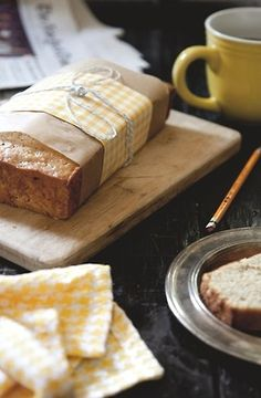 A lovely way to package banana bread