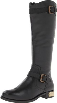 Luichiny Women's Pass N Time Riding Boot,Black,8 M US * Click image for more details.