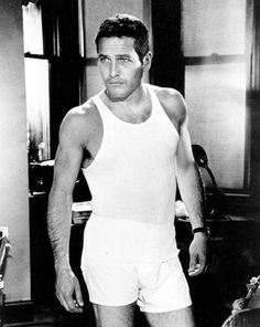 Paul Newman- He was hot- supposed to have slept with Sal Mineo- among other men.