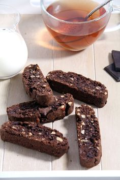 Hazelnut Chocolate Biscotti
