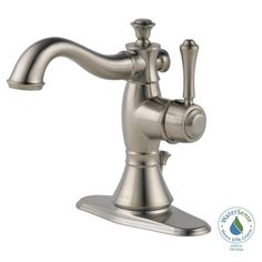 Delta Cassidy Single Hole Single-Handle Bathroom Faucet in Venetian Bronze with Metal Pop-Up-597LF-RBMPU - The Home Depot