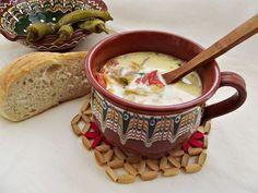 Reteta culinara Ciorba de ciuperci pleurotus si piept de pui din categoria Ciorbe. Cum sa faci Ciorba de ciuperci pleurotus si piept de pui