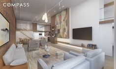 "AN ARCHITECT'S DREAM LOFT, THAT ""PAYS"" TO OWN IT. On Crosby Street, one of the…"