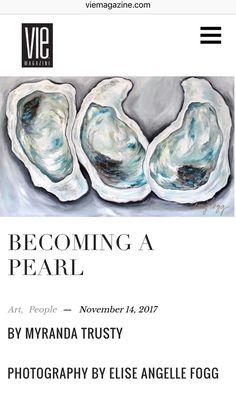 VIE magazine article on Coastal 30A artist Amy Fogg