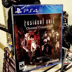 On instagram by monsieur_grumpy #retrogaming #microhobbit (o) http://ift.tt/1QoOE3X up #residentevil. I need to make time now. My third time buying the #remake I had an #import copy and the u.s release for my #gamecube #backintheday. Now these are the #videogames that I like. Way to go #capcom.. not advertising the collection I had no idea until a week ago. #pickups #retro #residentevil0  #retrogamer #horror  #berserk #Godzilla #manga #ps4