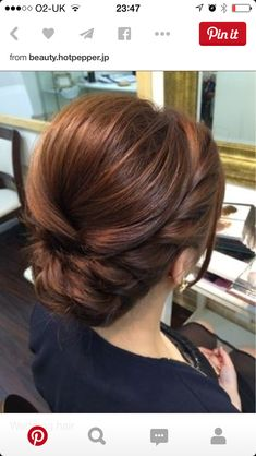 Elegant, polished, braided updo that would be perfect for any bridesmaid or brid. - Elegant, polished, braided updo that would be perfect for any bridesmaid or bridal hair theme. Formal Hairstyles, Bride Hairstyles, Pretty Hairstyles, Bridesmaids Hairstyles, Vintage Hairstyles, Elegant Hairstyles, Chic Hairstyles, Hairstyle Ideas, Side Bun Hairstyles