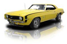 1969 Chevrolet Camaro coupe SS / Super Sport 396 cid big block in Daytona Yellow