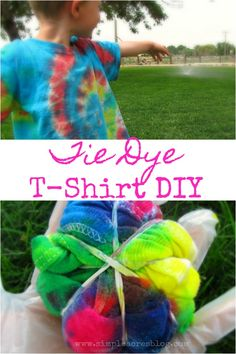 Simple Tie Dye T-Shi