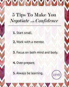 5 Tips To Help You Negotiate   Levo   Negotiation