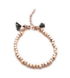 nugget clasp bracelet / shashi