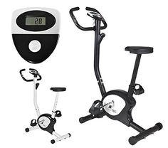 cool Mecánico Estacionario Bicicleta Ejercicio Entrenamiento Deporte Fitness Salud Colores: Negro Blanco