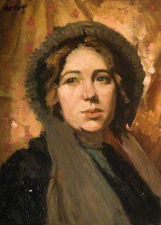 The New Bonnet - William Orpen (1878 – 1931, Irish)