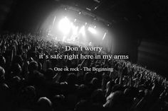 Just give me a reason to keep my heart beating. Rock Quotes, Band Quotes, Music Is My Escape, My Music, One Ok Rock Lyrics, The Amity Affliction, Beautiful Lyrics, Singing In The Rain, My Favorite Music