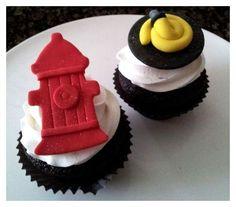 Bomberos Cupcakes