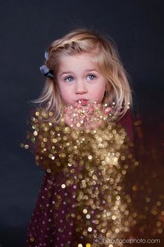 Three year Old Girl Photography * Frederick MD Child Photographer Glitter