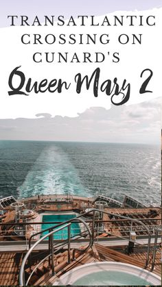 Transatlantic Crossing on Cunard's Queen Mary 2 Cruise Tips, Cruise Travel, Cruise Vacation, Best Travel Hashtags, Cunard Queen Mary 2, Christmas In Germany, Best Christmas Markets, Travel Guides, Travel Tips