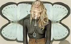 dree hemingway for maniamania jewelry - Astral plane collection