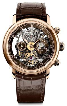 TimeZone : Basel/SIHH 2016 » SIHH 2016 - Jules Audemars Tourbillon Chronograph