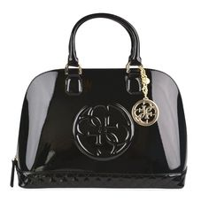 69cdc8765e Guess Amy Shine Dome Bag ($110) ❤ liked on Polyvore featuring bags, handbags