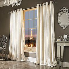 Kylie Minogue At Home Iliana Eyelet Lined Curtains #kaleidoscope #home