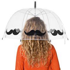 mustache umbrella  http://www.tiger.dk