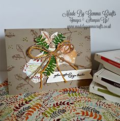 Stampin' Up! Holiday Catalogue Favourites Crafty Cupcakes Team Blog Hop