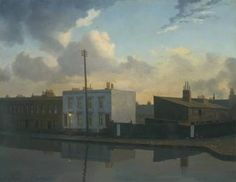 "Algernon Newton, ""The Surrey Canal, Camberwell"" (1935)"