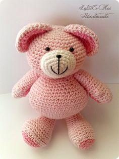 Amigurumi Teddy Bear #amigurumi #teddybears