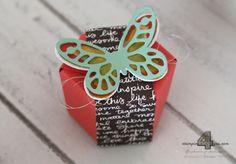 Stampin' Up! Verpackung mit dem Stanz- und Falzbrett für Geschenktüten
