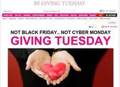 GIVING TUESDAY-November 27th ღ