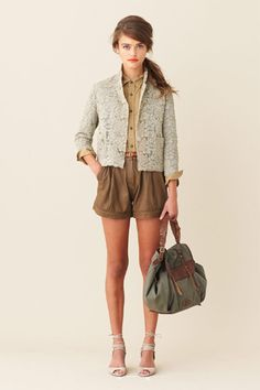 j. crew- with flats for walking!