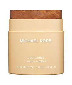 Michael Kors Leg Shine Warm weather brings shorter hems and, well, shorts. Give bare legs a bit of shimmer with a lightly tinted and fragranced stick. Moisturizes, too, for smooth legs.  To buy: $10, sephora.com.