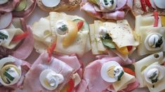 Fingerfood Party, Party Finger Foods, Pasta Salad, Camembert Cheese, Potato Salad, Buffet, Food And Drink, Cooking Recipes, Snacks